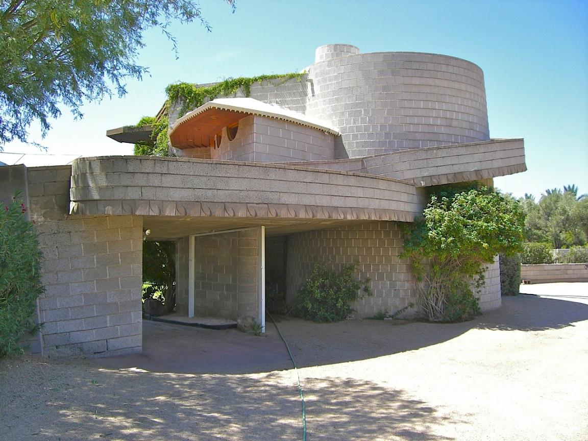 La maison de Frank Lloyd Wright